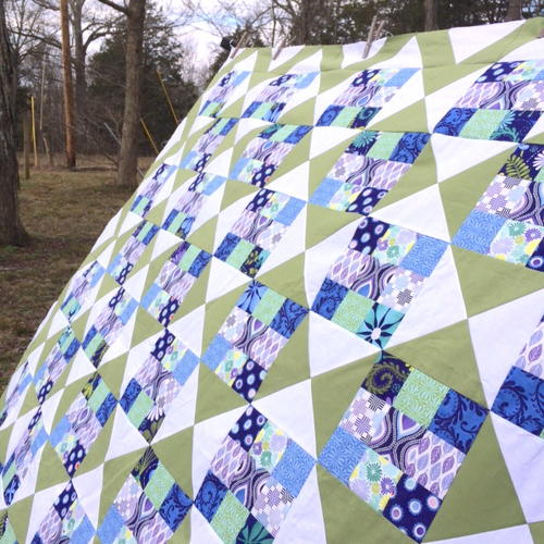 Time for Chevrons Quilt Tutorial