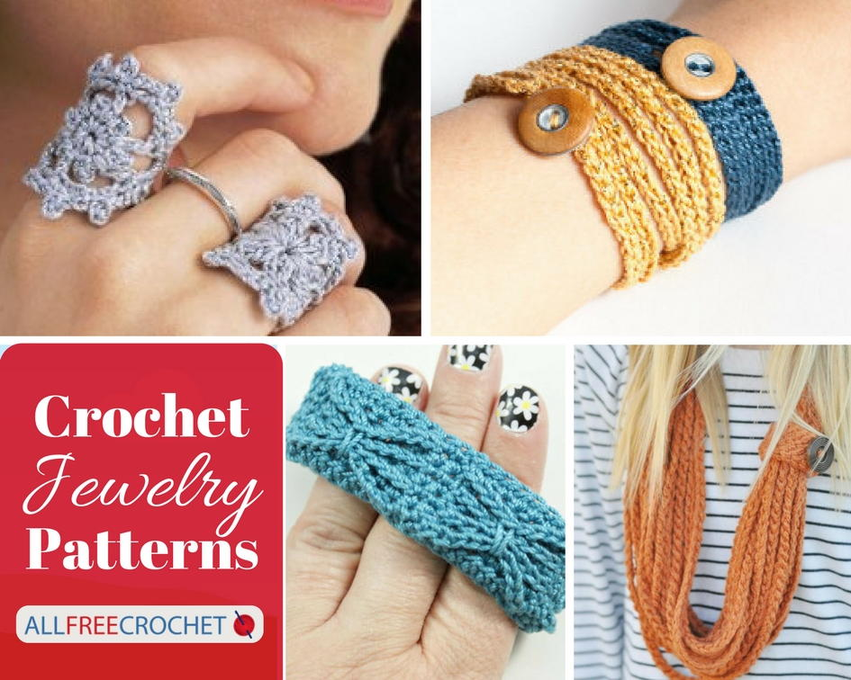 62 of the Best Crochet Jewelry Patterns | AllFreeCrochet.com