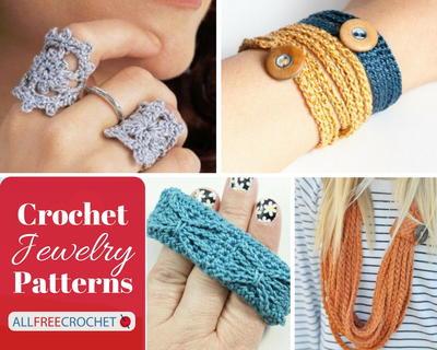 62 Of The Best Crochet Jewelry Patterns Allfreecrochet