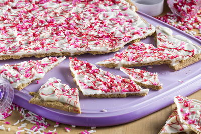 Sweetheart Candy Bark