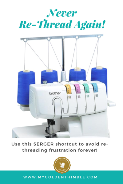 How to Change Serger Threads