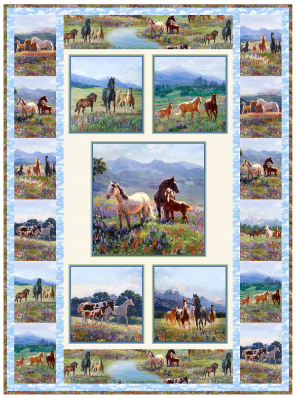 Wildflower Trails Quilt Pattern