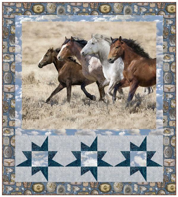 Saddle Up 10 Horse Quilt Patterns Favequilts Com