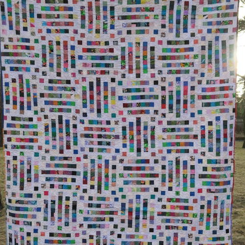 Dots and Dashes Quilt Pattern