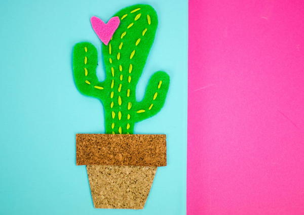 DIY Cactus Canvas