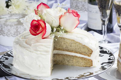 Banana Wedding Cake