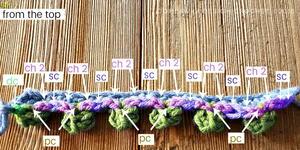 popcorn crochet stitch instructions