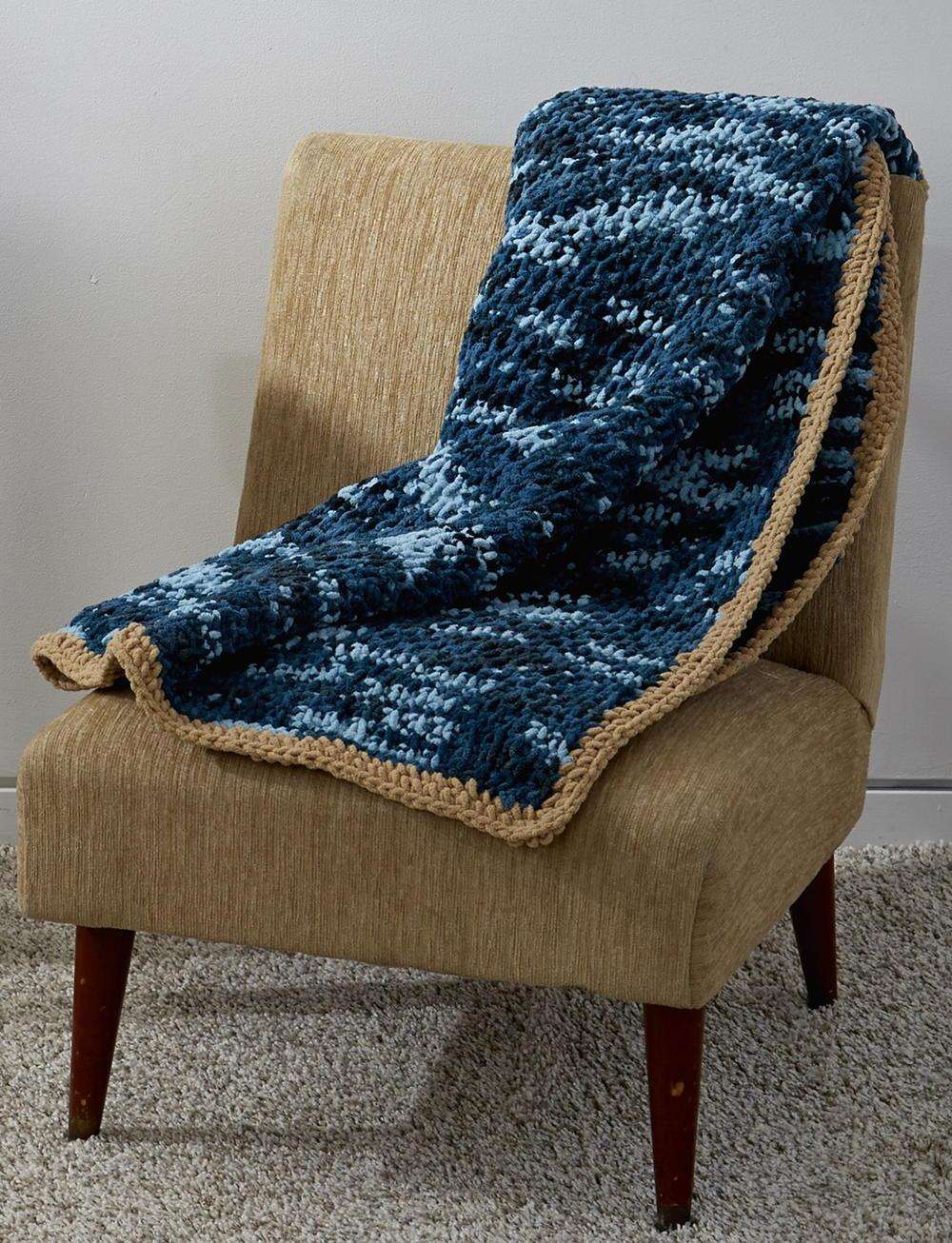 Honestly Easy Tunisian Crochet Afghan Pattern | AllFreeCrochet.com