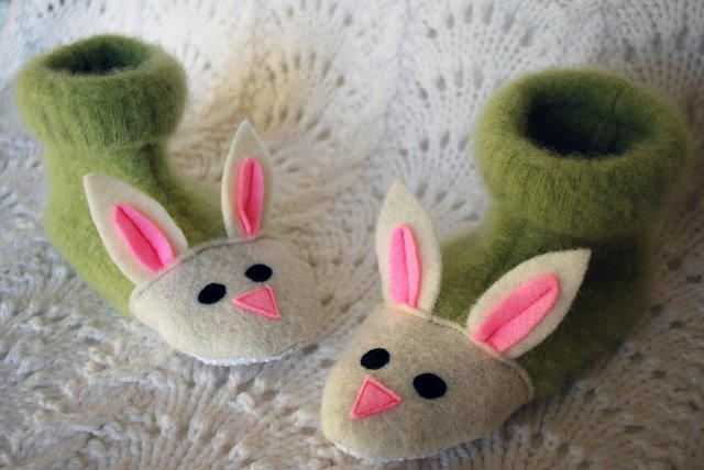 Bunny Feet Easter Crafts Allfreesewing Com