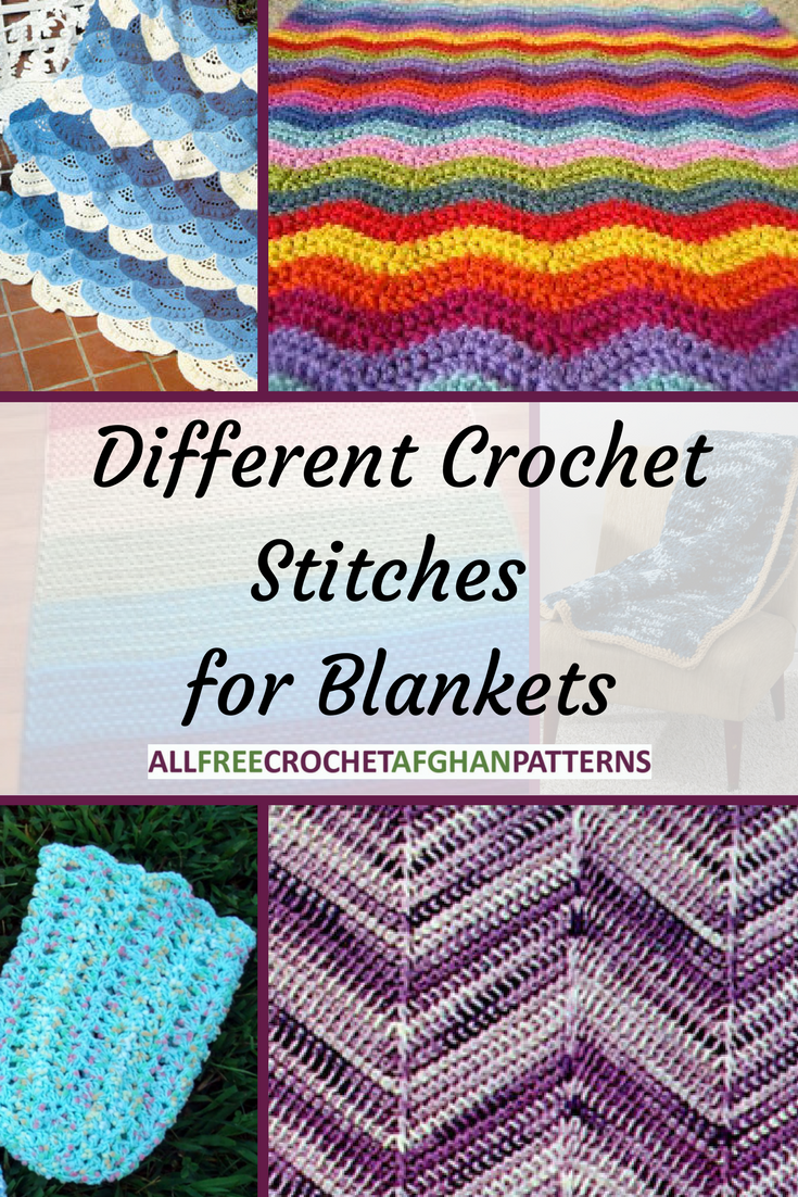 10 Different Crochet Stitches for Blankets ...