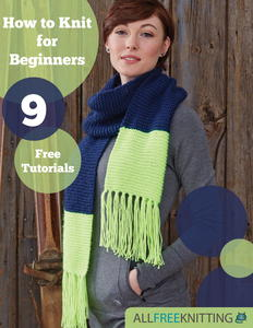 """Knitting for Beginners: 9 Free Tutorials"" eBook"