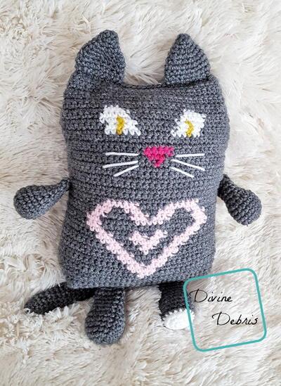 43 Free Crochet Cat Patterns Allfreecrochet
