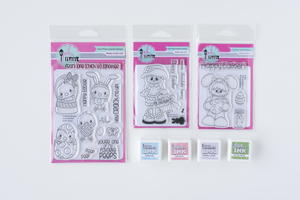 Cute Easter Stamps and Ink Set Giveaway