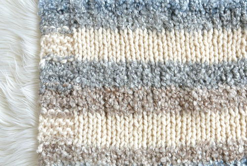 Cuddly Quick Knit Throw Blanket Allfreeknitting
