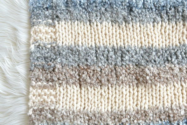 Cuddly Quick Knit Throw Blanket
