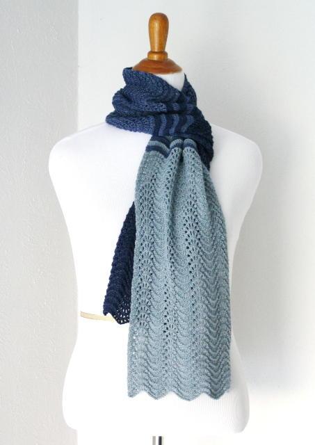 Zen Knitting Patterns : Plumo gradient scarf allfreeknitting