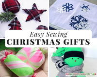 32 Easy Sewing Christmas Gifts