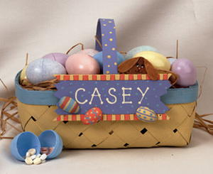 Personalized Egg Hunt Easter Basket
