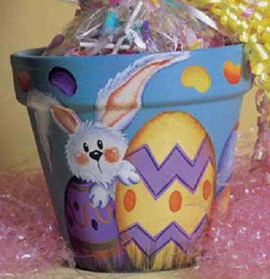 Jelly Bean And Bunny Easter Pot Favecrafts Com