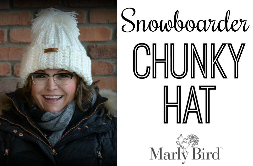 Crochet Snowboarder Chunky Hat   AllFreeCrochet.com