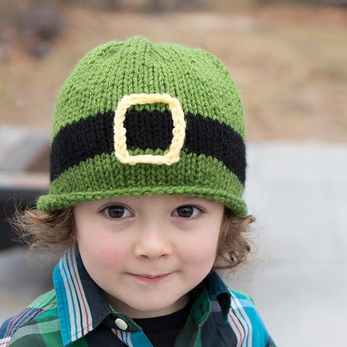 Little Leprechaun Knit Hat