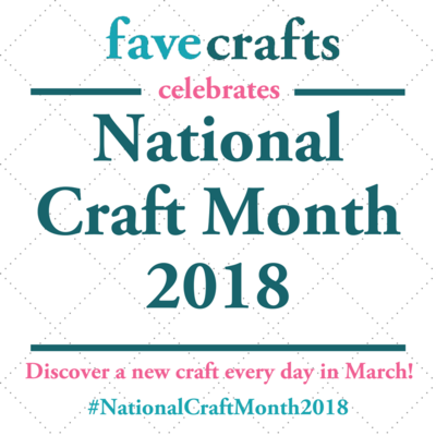 National Craft Month 2018
