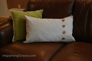 Pottery Barn Inspired Pillow
