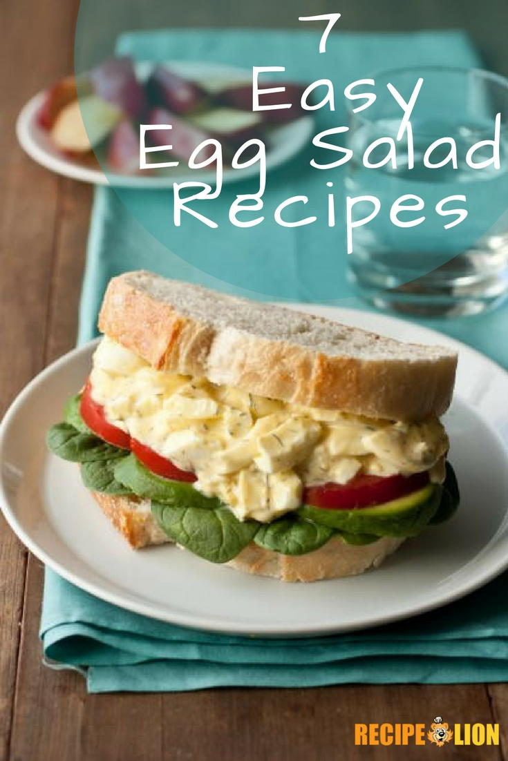 7 Easy Egg Salad Recipes | RecipeLion.com