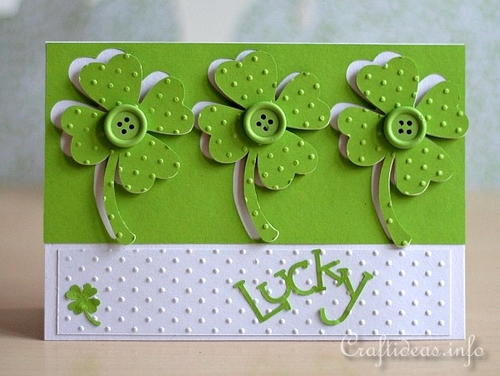 Lucky St. Patrick's Day Card