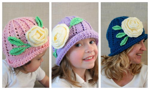 Soft and Sweet Easter Hat