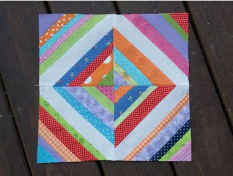 Super Magical String Quilt Block