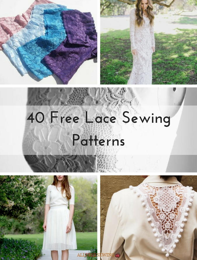 40 Free Lace Sewing Patterns | AllFreeSewing.com