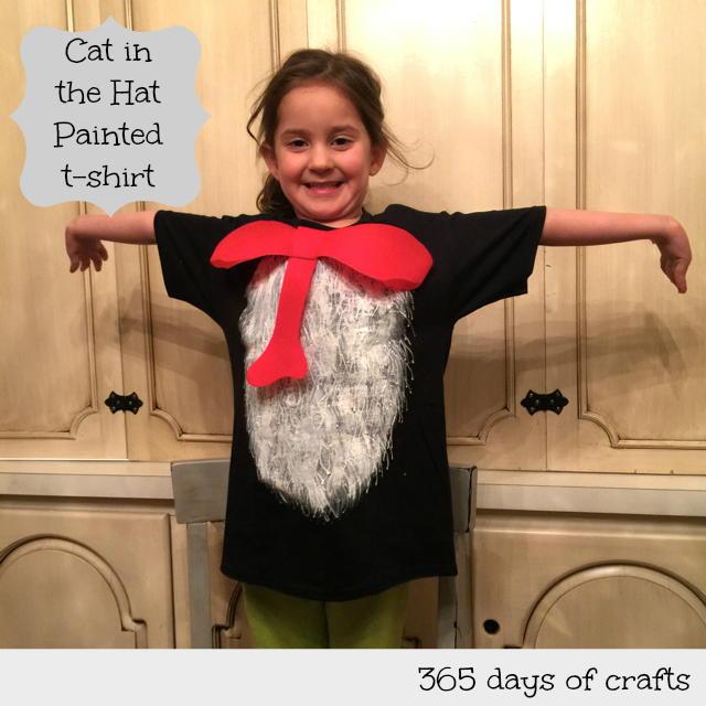 Painted Dr Seuss T Shirt Favecrafts Com