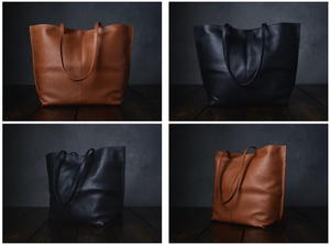 Beautiful Leather Project Bag Giveaway