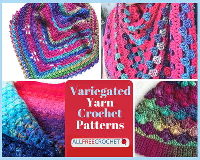 35 Variegated Yarn Crochet Patterns Allfreecrochet