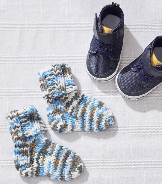 Knit Baby Socks Allfreeknitting