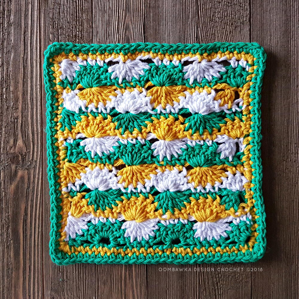 Catherine Wheel Crochet Stitch Instructions Round Ripple Afghan Pattern With Diagram