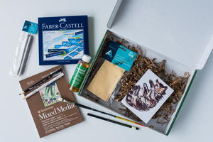 Mixed Media Oil Pastels Kit Giveaway