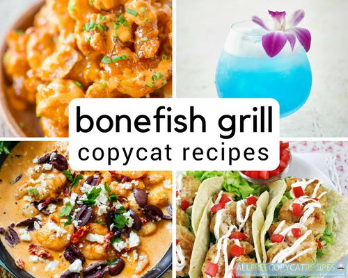 Bonefish Grill Copycat Recipes