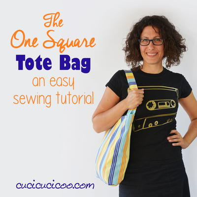 One Square Tote Bag