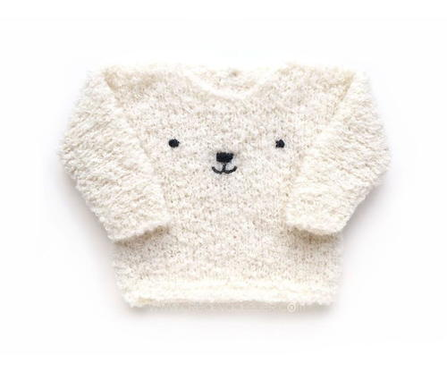 Teddy Bear Sweater Allfreeknitting