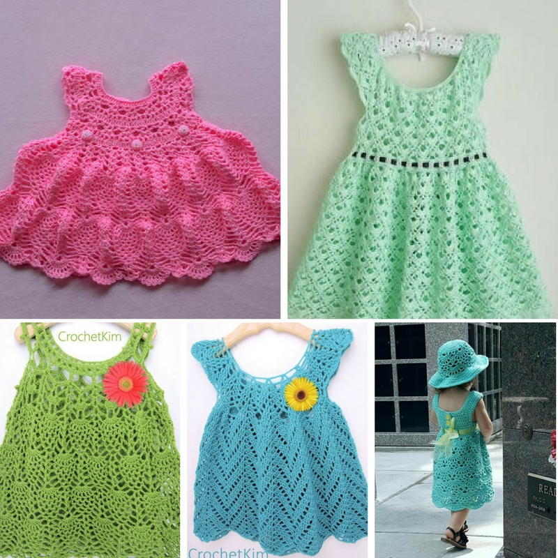 60 Adorable Crochet Baby Dress Patterns Free AllFreeCrochet Extraordinary Crochet Dress Patterns