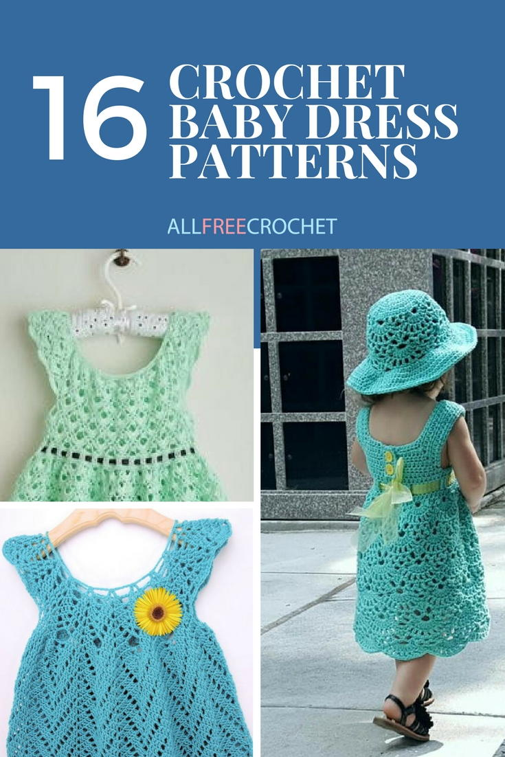 16 Adorable Crochet Baby Dress Patterns (Free!) | AllFreeCrochet.com