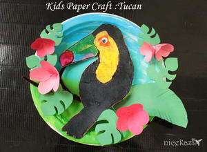 Kids Paper Craft Tucan Fun Craft For Kids Favecrafts Com