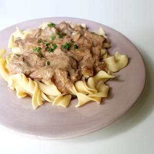 Elegant and Easy Beef Stroganoff