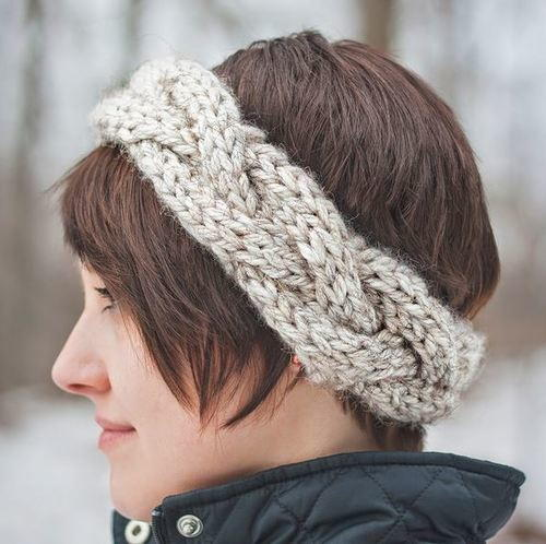 Easy Cable Knit Headband Pattern Gallery Knitting Patterns Free