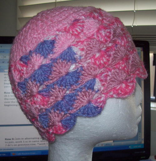 Catherine Wheel Crochet Stitch Instructions Allfreecrochet