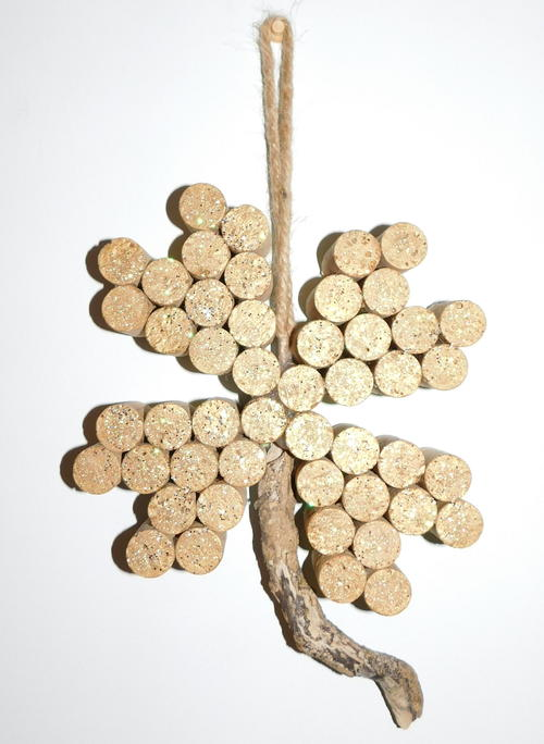 Wine Cork Clover