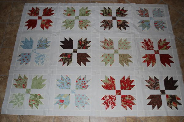 8 Easy Bear Paw Quilt Patterns | FaveQuilts.com : bear claw quilt pattern - Adamdwight.com