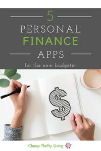 5 Personal Finance Apps for the New Budgeter (2018)